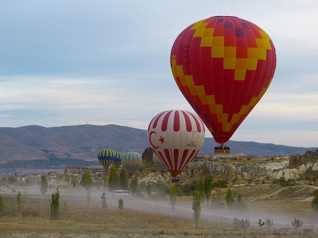 Hot Air Balloon Tour in Turkey
