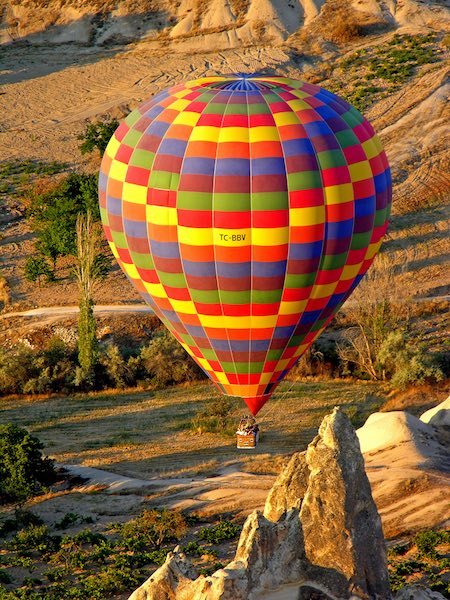 Balloon tours Turkey
