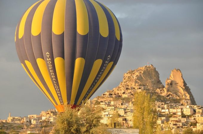 hot air balloon tour from istanbul